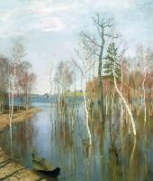 Левитан И.И. Весна. Большая вода