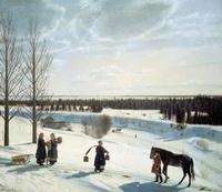 Русская зима (Н.С. Крылов, 1827 г.)