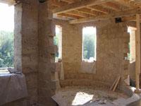 Строительство дома из самана