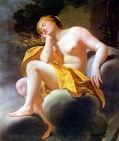 Венера на облаке (С. Вуз, 1640 г.)