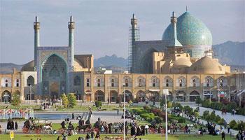 Площадь Имама Хомейни и мечеть Имама (Исфахан)