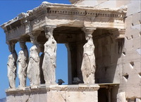 Портик Кариатид (Эрехтейон, Афинский Акрополь)