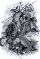 Скандинавы в сражении