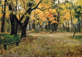 В Абрамцевском парке (Илья Семенович Остроухов)