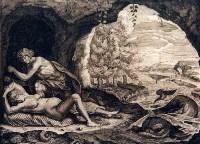 Пелей и Фетида. Автор - F. Foppens, гравюра
