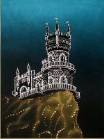 Картина из кристаллов Сваровски Ласточкино Гнездо