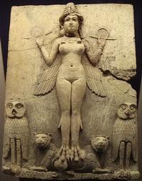 Вавилонский терракотовый рельеф