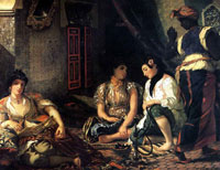Алжирские женщины (Эжен Делакруа)