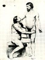 Два натурщика (В.М. Васнецов)