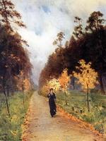 Осенний день. Сокольники. (И. Левитан, 1879 г.)
