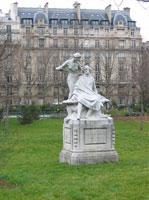 Памятник Альфреду де Мюссе