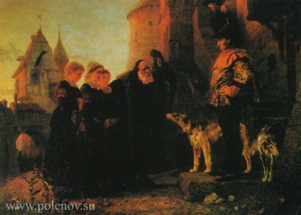Арест гугенотки