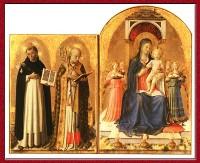 Мадонна с Младенцем на троне и Святыми Домиником и Николаем Барииским