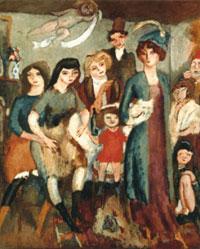 Турецкая семья (Жюль Паскен)