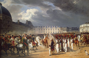 Инвалид, подающий прошение Наполеону (Орас Верне)