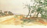 Итальянский пейзаж 1840- 1850 гг. Александр Андреевич Иванов 1806