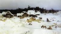 Зима. Имоченцы (В.Д. Поленов, 1880 г.)