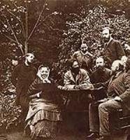Обитатели Абрамцево. 1880-е.