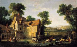 Сельской дом (Жан-Батист Удри, 1756 г.)