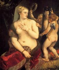 Венера перед зеркалом (Тициан, 1555 г.)