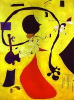 Голландский интерьер (Х. Миро, 1928 г.)