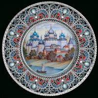 Ростов великий (настенное панно, Ростовская финифть)
