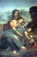 Мария с младенцем и Святой Анной