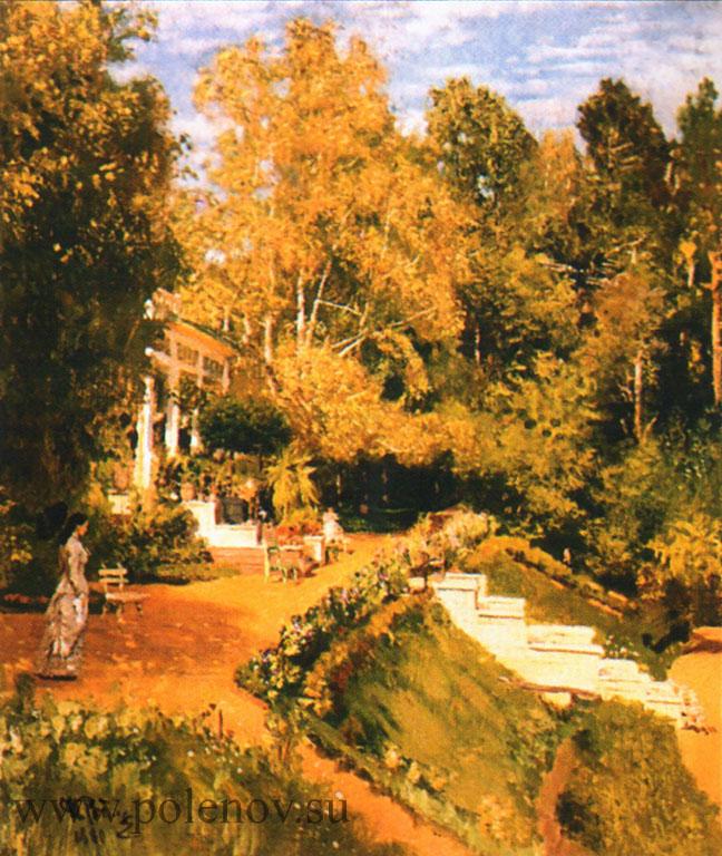 Картина И. Репина «Абрамцево»