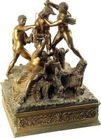 Фарнезский бык (статуэтка, 19 век)