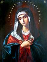 Чудотворная икона Божией Матери (Умиление)