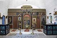 Церковь Спаса Нерукотворного. Интерьер.