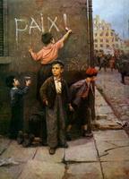 За мир! (Ф.П. Решетников, 1950 г.)