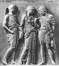 Гермес, Эвридика и Орфей (Каллимах)