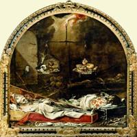 Хуан де Вальдес Леаль Конец Славы Мирской 1672 год